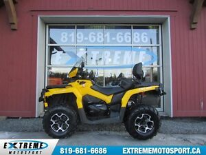 2016 Can-Am Outlander Max 650 XT COMME NEUF ! - 46$/SEMAINE