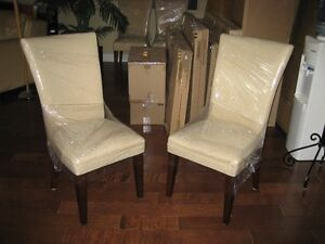 WING BACK DINING ROOM CHAIRS