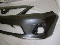 Neuf Pare-chocs GRIS Toyota Corolla 2011 - 2013 NEW Bumper Cover