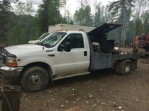 FOR SALE 1999 F350 4x4 DULLEY 1 TON SERVICE TRUCK