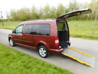 2014 Volkswagen Caddy Maxi Life 1.6 Tdi Automatic WHEELCHAIR ACCESSIBLE ADAPTED