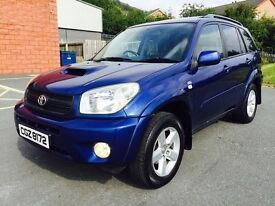 2005 TOYOTA RAV4 TX3 DIESEL FULL SERVICE HISTORY TWO OWNERS