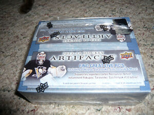 UpperDeck Hockey 13/14 Artifacts 24pk Wax Box! Sealed!!