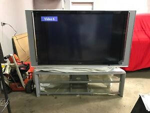 "60"" Sony Tv with stand  Strathcona County Edmonton Area image 1"