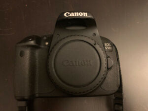 CANON REBEL EOS T4i (650D) with 18-55mm + 55-250mm Telephoto