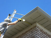 Skilled Eavestrough, soffit and fascia installers