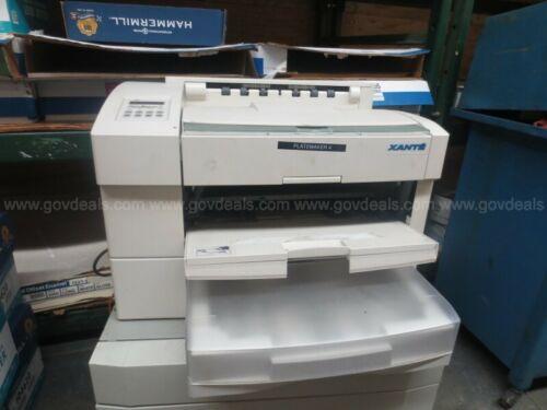 Xante PlateMaker 4 Great Condition