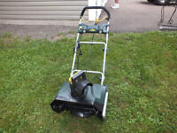 20'' Electric snow blower