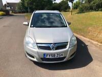 Vauxhall/Opel Zafira 1.8i 16v 2008.5MY Exclusiv