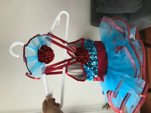 Girl dance dresses, perfect Xmas gifts. 4/6 years old