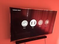 Panasonic 49 inch ultra hd 4K tv (FREE DELIVERY)