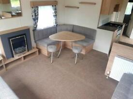 Stunning brand new static caravan - stunning 11.1 month park, fishing available.