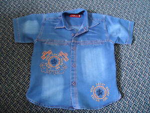 Boys Size 7 Short Sleeve Dress Shirt Kingston Kingston Area image 1