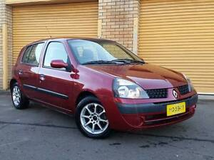 2002 RENAULT CLIO AUTOMATIC LOW KLMS Ingleburn Campbelltown Area Preview