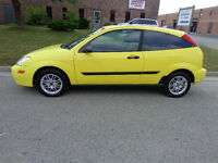 2000 Ford Focus Hatchback ZX3        $2500 Certified & E-Tested