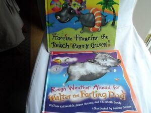 """""""Walter The Farting Dog"""" &""""Francine the Beach Party Queen"""