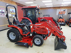 New McCormick X1.25H w/Loader and Mower - Only $19,999!