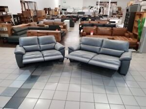 100% LEATHER 3 PLUS 2 SEATER ELECTRIC RECLINERS Ormiston Redland Area Preview