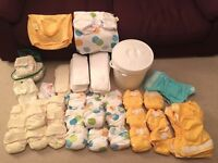 Reusable Nappies - Birth 2 Potty many never used