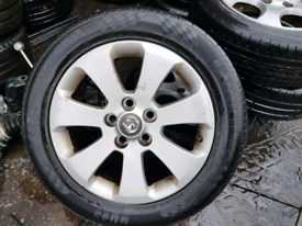 Vauxhall Insignia alloys wheels rims with tyres