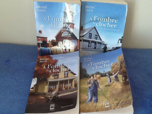 livre Michel David a l'ombre du clocher (4)  30$ ou 10$