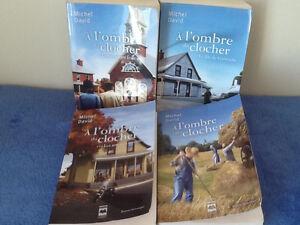 livre Michel David a l'ombre du clocher (4)  30$ ou 10$ Saguenay Saguenay-Lac-Saint-Jean image 1