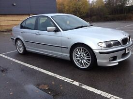 BMW 330D E46 M SPORT SALOON MANUAL, ONLY 2 PREVIOUS OWNERS, SERVICE HISTORY