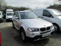 2007 BMW X3 2.0D SE 4X4 150PS MANUAL FINANCE FROM 4.00% DIESEL