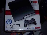 PS3 slim 120GB bundle
