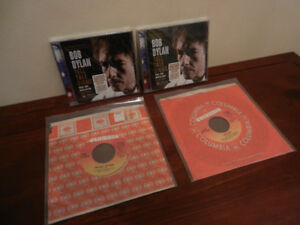 Bob Dylan 2 CD's Sealed Mint and 2 Records Lot of 4
