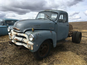 1955 Chevy  running first series one ton