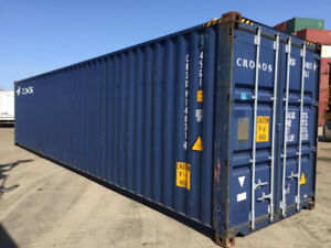 40' HC Used Shipping Container (NS)