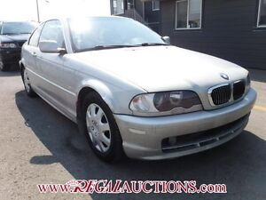 2000 BMW 3 SERIES 323CI 2D COUPE 323CI