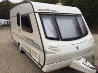 2000/2001 abbey vogue gts 2 berth touring caravan