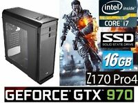 LAST Chance to BUY at this very LOW PRICE. From Tomorrow, CORE i7 GAMING PC will be £795.00