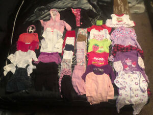 6-12 month baby clothes - girl