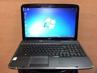 Acer Fast Laptop (Kodi) 3GB Ram, Dual-Core, 250GB Ram, Windows 7, Microsoft office