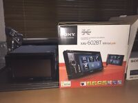 Sony double din car stereo