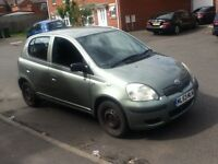 toyota yaris T3 1 owner spares & repairs easy fix look