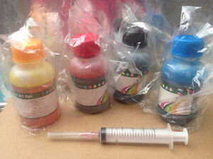 Edible Ink Refill Kits for Epson Canon Printers, Frosting Sheets