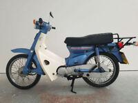 1985 Honda C 90 E C90 Cub Blue 29,096 Miles