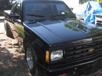 1988 Chevrolet S-10 Extended Cab Pickup