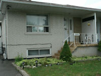Semi Detatched house for rent in Malton, Mississauga