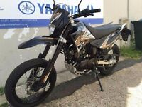 2016 Sinnis Apache 125cc - Couple months old - exellent condition, 100 miles , no time to use it