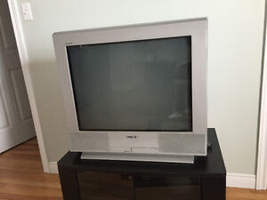 "I have Sony 26"" tv in good condition work perfectly for free."