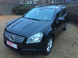 2009 LHD Nissan Qashqai + 2 2.0 DIESEL 7 SEATER AUTO, LEFT HAND DRIVE