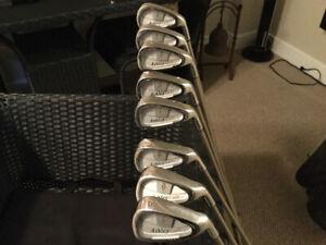 Women Lopez/Ashley golf clubs mint condition pd 900 + neg.