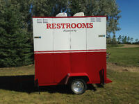 Rental Portable Washrooms!- Weyburn, SK