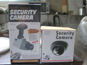 Realistic looking and working Security Cameras -- Brand New