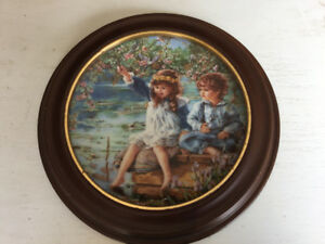 Bradford Exchange Framed Plate
